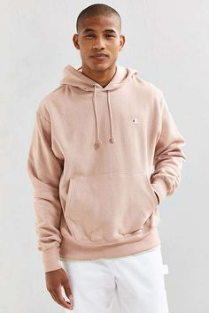 4630d1eb7e61 Slide View  2  Champion Reverse Weave Hoodie Sweatshirt Pink Champion Hoodie