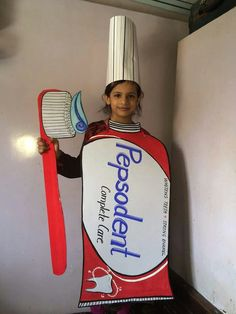 Fancy Dress Costumes Kids, Book Costumes, Fancy Dress For Kids, Best Poems For Kids, Boxing Halloween Costume, Fancy Dress Competition, Preschool Art Activities, Recycled Dress, Science For Kids