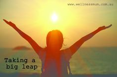 Taking a big leap – Since I started this blog I have always thought about the idea of becoming a life coach. I am all about living your life by following your passions and spending your days doing whatever makes you feel happy. So life coaching seemed like the logical next step for me. But I always had an excuse about why I shouldn't do it yet. I didn't have enough time, I still have my three year old to look after and the idea of starting my own business seems daunting. Isn't...