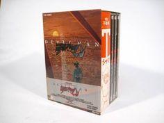 Used Devilman 1972 Go Nagai TV Anime Japanese DVD-BOX w/T-shirt (Devil man)