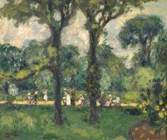 Georges d'Espagnat - Le Jardin du Luxembourg