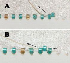 Peyote Stitch Patterns for Beginners   Peyote Stitch Instruction
