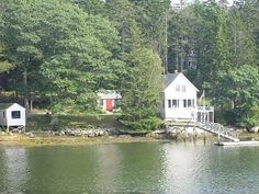 Stunning, private oceanfront cottage with dock/mooring pet friendly.Vacation Rental in Boothbay from @HomeAway! #vacation #rental #travel #homeaway