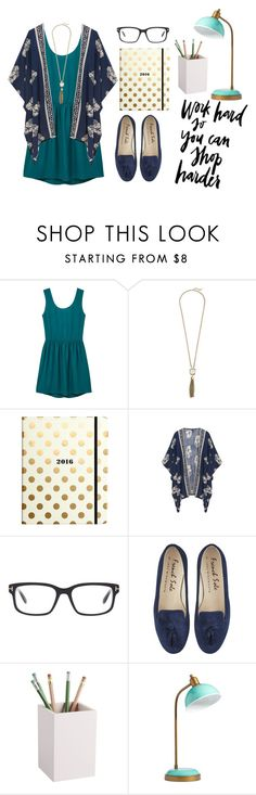 """""""Work Week Chic"""" by hfox4237 on Polyvore featuring MANGO, Cole Haan, Kate Spade, Tom Ford, CB2 and PBteen"""
