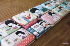 Boutique / Magasin en ligne kawaii - Petite boîte métal kawaii - spécialités japonaises - www.chezfee.com