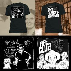 Image of Ayn Rand of Barney Fife? Shirts by Blair!