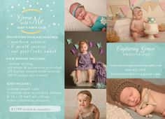 newborn photography flyers - Google Search