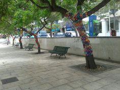 Yarnbombing Tenerife