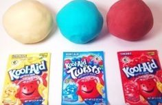 Easy 3-Step No Cook Playdough Recipie- Made using only dry ingredients, water, and oil!