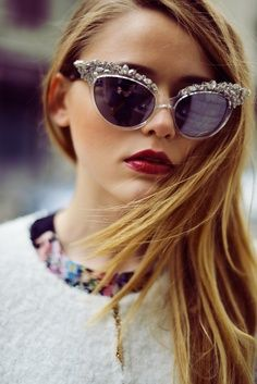 4891838a17799 Chic Glasses ♥ Cat Eye Crystal Coachella, Sports Sunglasses, Ray Ban  Sunglasses Outlet,
