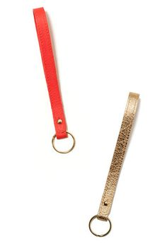 Loop Leather Keychain, I need this for finding my keys in my purse
