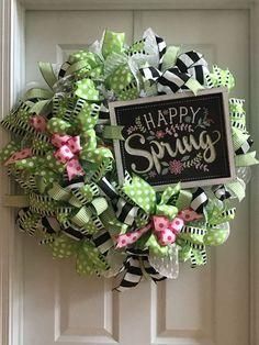 The Best Spring Door Wreath Ideas 17