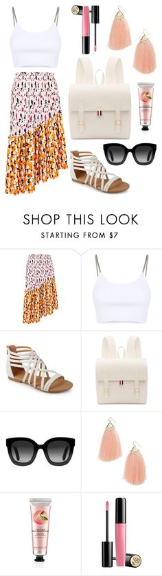 """Beach wear"" by loreiglesias on Polyvore featuring Kenzo, Alexander Wang, Thom Browne, Gucci, Panacea, The Body Shop and Lancôme"