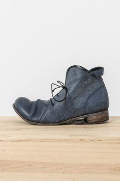 Boris Bidjan Saberi - object dyed cow leather horseshoe ankle boot