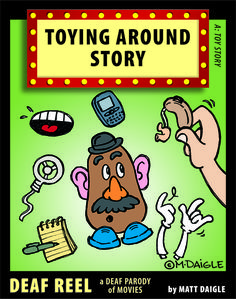 Hearing aid for Mr. Potato Head!!! Love!!!! Another great one for @Louise Sattler / SigningFamilies.com @SigningFamilies