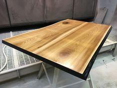 стол из массива ильма (вяз), Журнальный стол, кофейный столик, натуральное дерево, массив.