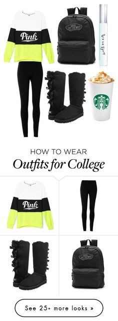 its getting cooled by ashleyfashionideas97 on Polyvore featuring moda, Max Studio, UGG Australia, Kate Spade y Vans