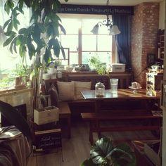 anzuchuanzuさんの、バスロールサイン風,ガラスケース,セリア,ホーロー,enfant,DIY,リビング,のお部屋写真