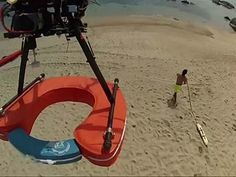 Raw: Drones to Help Beach Lifeguards in Chile - YouTube