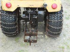 Michael's Tractors (Simplicity and Allis Chalmers Garden Tractors) - Scoop Tote, rear bucket