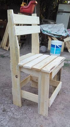 Pallets Wood Outdoor Dining Set   99 Pallets