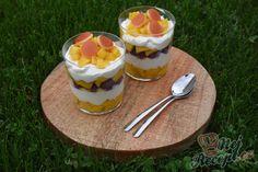 Nepečený pudinkový zákusek | NejRecept.cz Pudding, Cheesecake, Custard Pudding, Cheesecakes, Puddings, Avocado Pudding, Cheesecake Pie