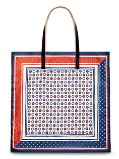 Marni bag #fashion #tote #polkadots