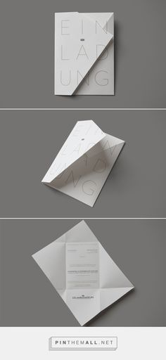 LES AMBASSADEURS, opening invitation on Behance