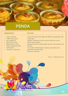 Eggless Recipes, Eggless Baking, Halal Recipes, Sweets Recipes, Indian Dessert Recipes, Indian Sweets, Indian Foods, Indian Dishes, Paneer Gravy Recipe