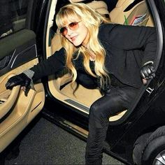 """""""My driver's license ran out in 1978, and I never got it renewed, because I never went anywhere alone. We got famous so fast, I just didn't get in a car and go to the market anymore. I miss driving around and listening to music.."""" - Stevie Nicks"""