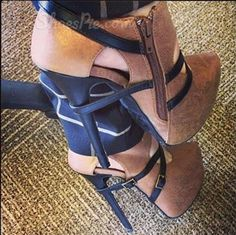 Ericdress deals in high heel boots for women like those cheap high heels boots. We invite you to buy high heel boots like black & brown womens high heel boots. Hot Shoes, Me Too Shoes, Shoes Heels, Suede Ankle Boots, High Heel Boots, Bootie Boots, Ankle Booties, Suede Heels, Dress Shoes