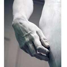 The details of the hand of David by Michelangelo. The marble statue was completed in when Michelangelo was 29 years old. Die Renaissance, Renaissance Kunst, Italian Renaissance Art, Michelangelo Sculpture, Michelangelo Paintings, Art History Major, The Farm, Italian Sculptors, Hand Sculpture