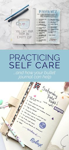 Self Care Bullet Journal - Spread ideas for your bullet journal!
