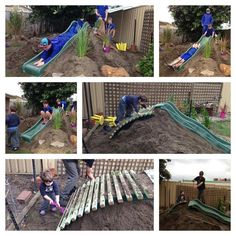 """Loving this slide mound at Little-Pelicans Family Daycare, image shared by Elite Childcare Solutions & Elite Family Day Care ("""",)"""