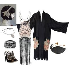 """Flapper Fab"" on Polyvore"