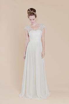 Marigold Wedding Dress from Sally Eagle Bridal's Collection