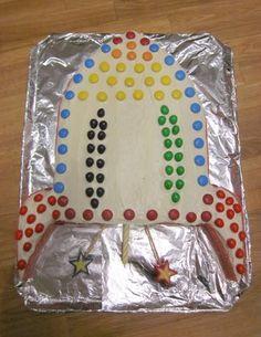 rocket cake, rocket ship cake