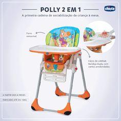 Depois de completar seis meses, o bebê deixa de se alimentar somente com o leite materno para experimentar outros alimentos e aprende a comer com suas próprias mãos, o que pode tornar a hora da refeição uma verdadeira bagunça. A hora da refeição do bebê deve ser um momento tranquilo e confortável. Para as mamães e papais que ainda não compraram a cadeira de alimentação, é bom começar a pensar nesta questão.  Nossa dica para a 1ª cadeira de alimentação é a Polly 2 em 1.  (...)