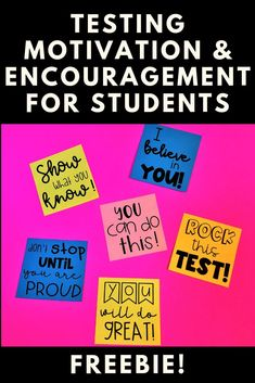 Standardized testing motivation for elementary and middle school students. How I motivate and encourage my students in the classroom for state tests. Ideas of treats, activities, and notes to excite and motivate my students. Testing Treats For Students, 4th Grade Reading Worksheets, Teaching Grammar, Teaching Reading, Elementary Math, Upper Elementary, School Motivation, Motivational Phrases, Test Prep