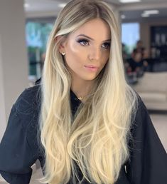 Human hair lace front real quality human hair wigs for caucasian Pretty Hairstyles, Wig Hairstyles, Blonde Hair Looks, Girls With Blonde Hair, Blonde Wig, Platinum Blonde Hair, Hair Images, Love Hair, Balayage Hair