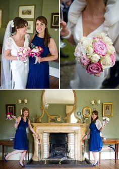 True Blue. April Wedding, Blue Color Schemes, Bridesmaid Dresses, Wedding Dresses, Wedding Flowers, Wedding Planning, Reception, Marriage, Rock