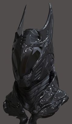 Scifi mask that reminds of Batman: