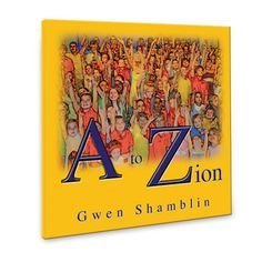 A to Zion is an Inspirational Alphabet Book written by Gwen Shamblin, founder of the Weigh Down Ministries, that will teach your child from a very young age how everything is about God!!!  This book is for all ages and will point the whole family up to God as you enjoy reading together.-$10.99       G is for GOD    V is for VINE         The letters and pictures will create lots of fun conversation which will bring you and your children closer together.