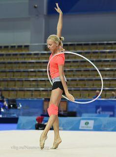 Yana Kudryavtseva (Russia), backstage World Cup (Kazan, Russia) 2015