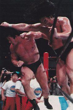 Riki Choshu vs Tatsumi Fujinami