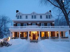 Kedron Valley Inn, Woodstock-Vermont Vacation Destinations, Dream Vacations, Places To Travel, Places To Go, Woodstock Vermont, New England States, Winter Scenery, Winter Travel, Hotel Reviews