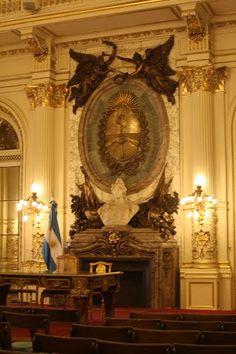 Salón de los Pasos Perdidos - Casa Rosada, CABA, Argentina / por Miguel Frias
