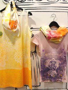 Fashion Spray - nove fantastične boje za tekstil! — Hobby Art Chemaco Cover Up, Textiles, Blouse, Tops, Dresses, Painting, Women, Art, Fashion