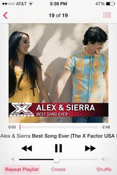 Alex and Sierra #xfactor winners. Called it! :)