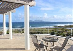 At home, in Anguilla